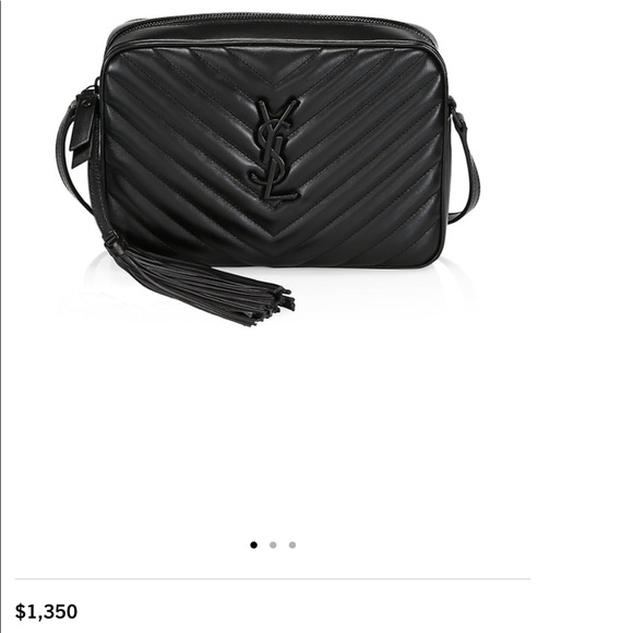 ‼️SOLD‼️ Authentic YSL Camera Bag